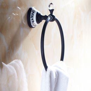 浴室タオルリング タオル掛け タオル収納 壁掛けハンガー バスアクセサリー ヴィンテージ ORB LWA109
