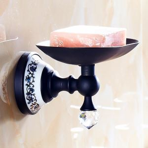 浴室ソープディッシュホルダー バスアクセサリー ORB 真鍮製 アンティーク