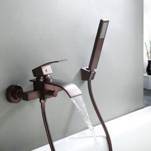シャワー水栓 バス蛇口 ハンドシャワー 混合水栓 蛇口付き 風呂用 ORB M5030OWI