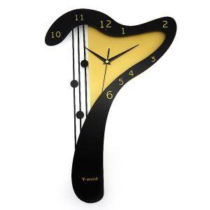 時計 壁掛け時計 静音時計 7型 個性的