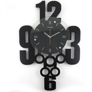 時計 壁掛け時計 静音時計 数字時計 創意 個性的
