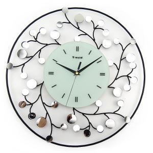 時計 壁掛け時計 静音時計 花型 子供屋 創意