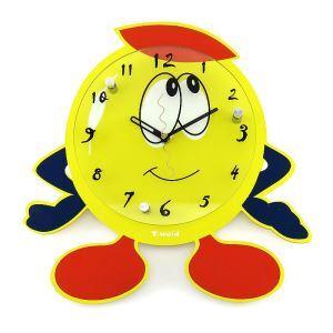 時計 壁掛け時計 静音時計 漫画 かわいい 子供屋