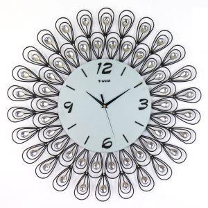 時計 壁掛け時計 静音時計 創意 インテリア
