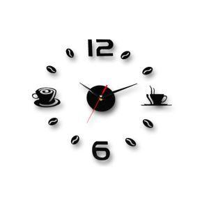 時計 壁掛け時計 静音時計 DIY時計 コーヒー 創意
