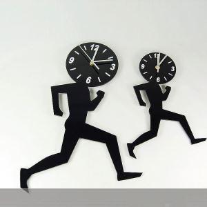時計 壁掛け時計 静音時計 走り 創意 個性的