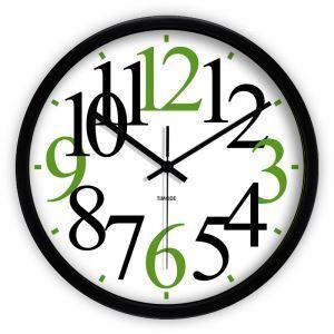 時計 壁掛け時計 静音時計 抽象数字 個性的
