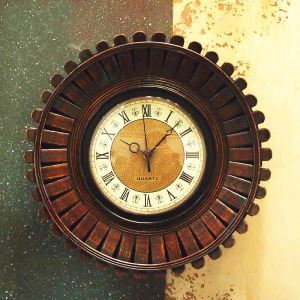 時計 壁掛け時計 静音時計 北欧 鉄製 インテリア