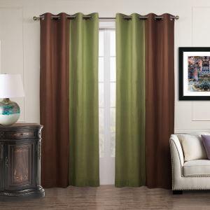 遮光カーテン オーダーカーテン 北欧カーテン 2色組み 無地柄 麻&綿 3級遮光カーテン(1枚) GT054
