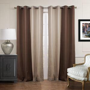 遮光カーテン オーダーカーテン 北欧カーテン 2色組み 無地柄 麻&綿 3級遮光カーテン(1枚) GT056