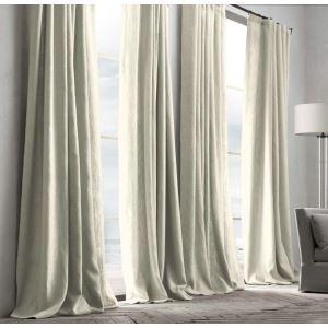 遮光カーテン 北欧カーテン オーダーカーテン 無地柄 麻&綿 3級遮光カーテン(1枚) GT092