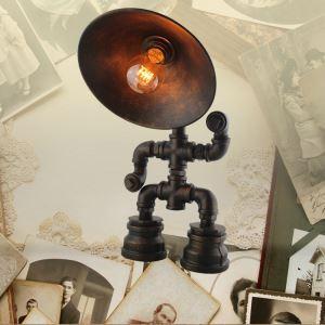 テーブルランプ テーブルライト ロボット照明 スタンド 北欧 田舎風