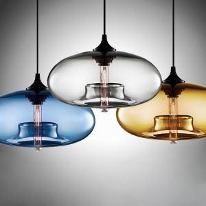 ペンダントライト 照明器具 天井照明 インテリア照明 リビング 玄関 店舗 ガラス製 1灯 D28cm
