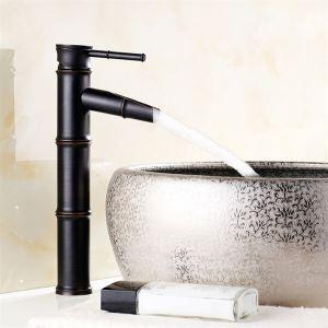 キッチン蛇口 台所蛇口 冷熱混合水栓 筍の形 ORB