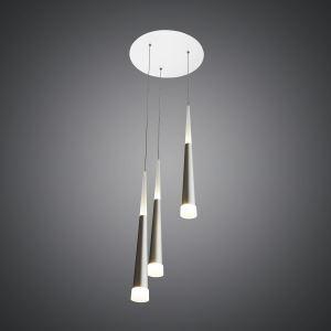 LEDペンダントライト 天井照明 アクリル照明 円形 3灯