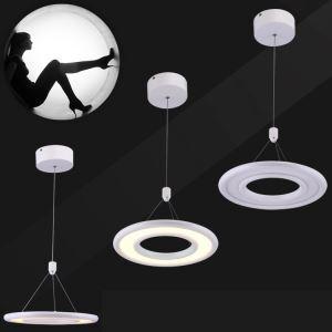 LEDペンダントライト 天井照明 アクリル照明 円形 1灯