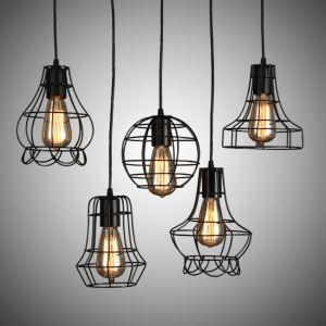 ペンダントライト 照明器具 天井照明 玄関 店舗 北欧風 黒色 1灯