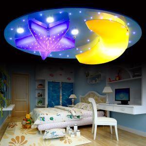 LEDシーリングライト 天井照明 子供屋照明 星&月特集 8灯