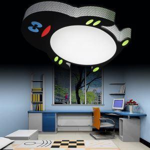 LEDシーリングライト 天井照明 子供屋照明 ペンギン型