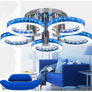 LEDシーリングライト 天井照明 アクリル照明 リビング照明 4色 LED対応 5灯