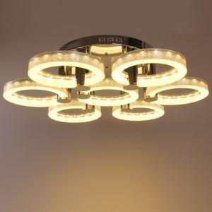 LEDシーリングライト 照明照明 リビング照明 寝室照明 店舗照明 オシャレ LED対応 7環