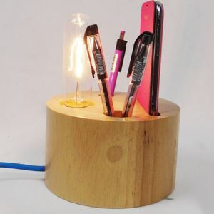 テーブルランプ 卓上照明 テーブルライト 木製照明 カントリー 1灯