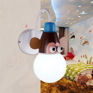 壁掛けライト ウォールランプ 子供屋照明 アニマル照明 1灯