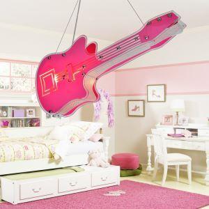 LEDペンダントライト 天井照明 子供屋照明 バイオリン型 2灯