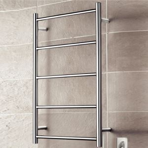 壁掛けタオルウォーマー タオルヒーター タオルハンガー+簡易乾燥 ステンレス鋼 40W