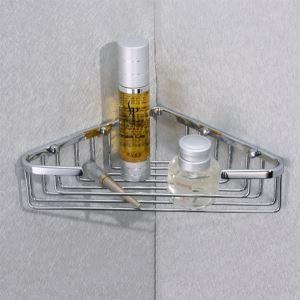 シャンプースタンド シャワーラック 浴室収納 真鍮製 クロム