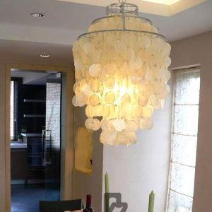ペンダントライト 天井照明 玄関照明 シェル照明器具 1灯 D45cm