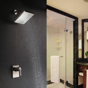 埋込形シャワー水栓 レインシャワーヘッド ヘッドシャワー 光沢