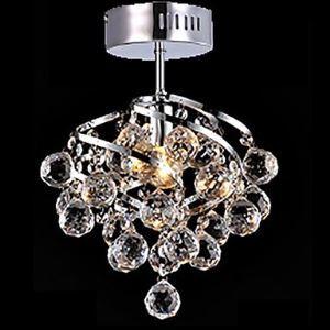 シーリングライト クリアクリスタル照明 天井照明 照明器具 1灯