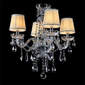シャンデリア 照明器具 リビング照明 天井照明 寝室照明 クリスタル オシャレ 4灯 LED電球付 LTB757
