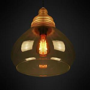 ペンダントライト ガラス製照明 天井照明 照明器具 シンプルデザイン 1灯