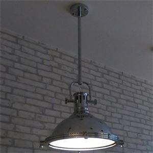 ペンダントライト アメリカスタイル照明 天井照明 レトロな照明器具 クロム 1灯