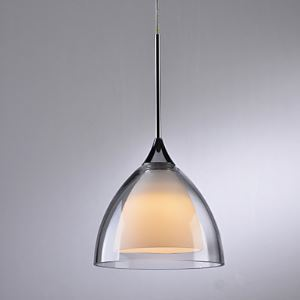 LEDペンダントライト 天井照明 照明器具 ガラス製照明 シンプルデザイン 1灯