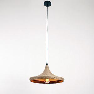 ペンダントライト 照明器具 店舗照明 玄関照明 食卓照明 ロープ照明 カントリー風 1灯 LTB870749