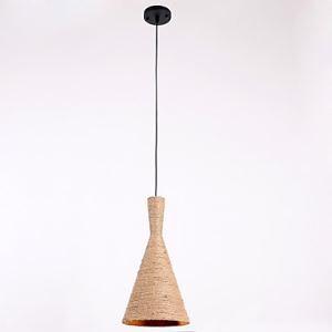 ペンダントライト 照明器具 店舗照明 玄関照明 食卓照明 ロープ照明 カントリー風 1灯 LTB870750