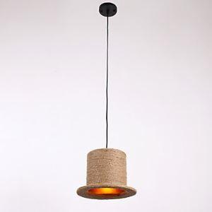 ペンダントライト 照明器具 店舗照明 玄関照明 食卓照明 ロープ照明 カントリー風 1灯 LTB870752