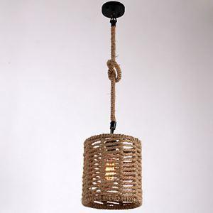 ペンダントライト 照明器具 店舗照明 玄関照明 食卓照明 ロープ照明 カントリー風 1灯 LTB870754