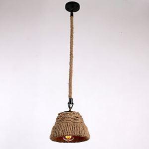 ペンダントライト 照明器具 店舗照明 玄関照明 食卓照明 ロープ照明 カントリー風 1灯 LTB870756