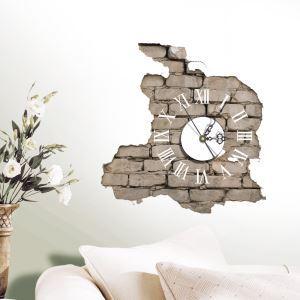 3D壁掛け時計 3Dデコレ壁掛け時計 DIYデコレ時計 静音時計 壁柄