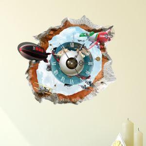 3D壁掛け時計 3Dデコレ壁掛け時計 DIYデコレ時計 静音時計 天体柄