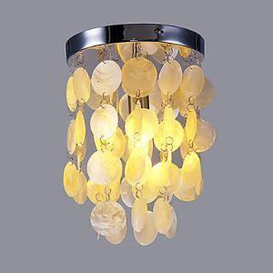シーリングライト 玄関照明 シェル製照明 照明器具 天井照明 1灯