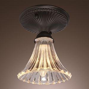 シーリングライト 玄関照明 ガラス製照明器具 天井照明 1灯