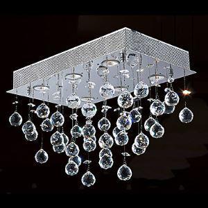 シーリングライト クリスタル照明 玄関照明 天井照明 照明器具 6灯