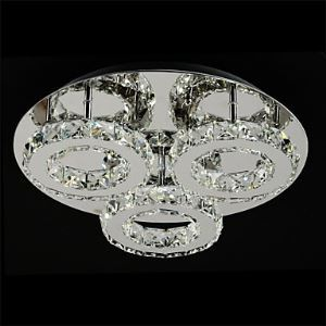 LEDシーリングライト K9クリスタル照明 玄関照明 天井照明 照明器具