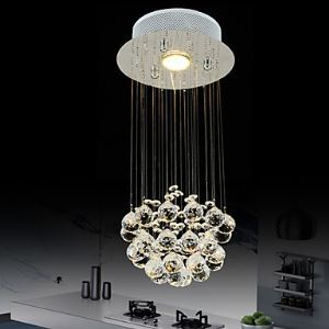 LEDシーリングライト クリスタル照明 玄関照明 天井照明 照明器具 GU10-1灯