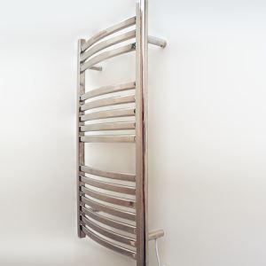 壁掛けタオルウォーマー タオルヒーター タオルハンガー+簡易乾燥 #304ステンレス鋼 クロム 120W